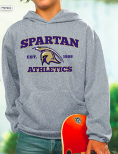 Youth LAT Sweatshirt with Spartan Logo